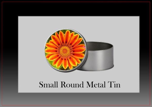 small round tin