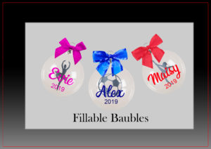 Fillable Baubles 8cm